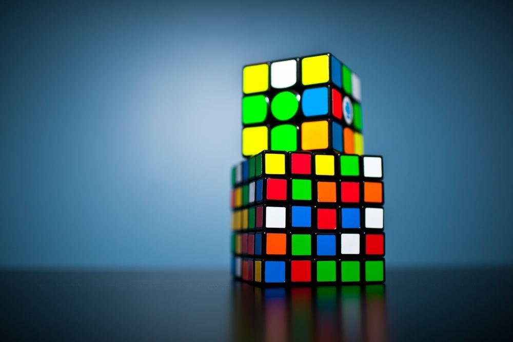 Rubiks kub i olika former