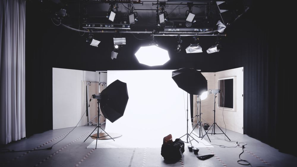 Hyr en fotostudio för professionella foton och videos